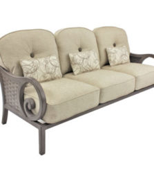 Riviera Cushioned Sofa
