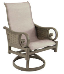 Riviera Sling Swivel Rocker
