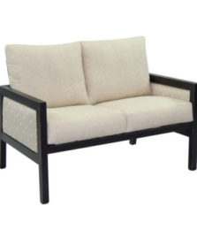 Gold Coast City Cushioned Loveseat