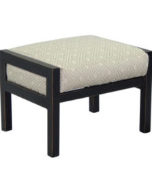 Gold Coast City Cushioned Ottoman