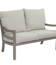 Roma City Cushioned Loveseat