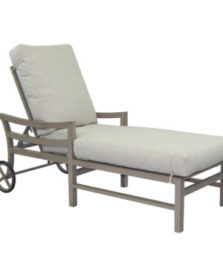 Roma Cushioned Chaise Lounge