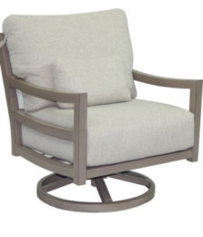 Roma Cushioned Lounge Swivel Rocker