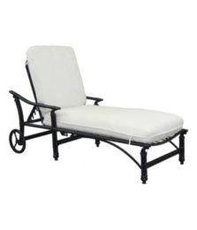 Coco Isle Cushioned Chaise Lounge