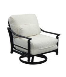 Coco Isle Cushioned Lounge Swivel Rocker