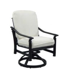 Coco Isle Cushioned Swivel Rocker