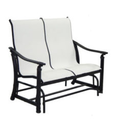 Coco Isle Sling Loveseat Glider