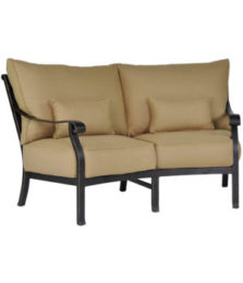 Madrid Crescent Loveseat