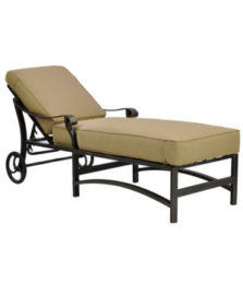 Madrid Cushioned Chaise Lounge