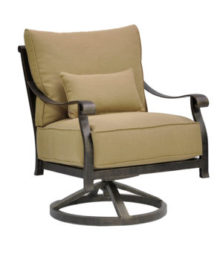 Madrid Cushioned Lounge Swivel Rocker