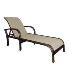 Meridian Adjustable Sling Chaise Lounge