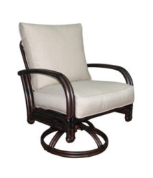 Meridian Cushioned Swivel Rocker