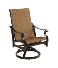 Monterey City Sling Swivel Rocker