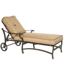 Monterey Cushioned Chaise Lounge