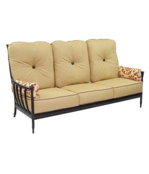 Provence Cushioned Lounge Sofa