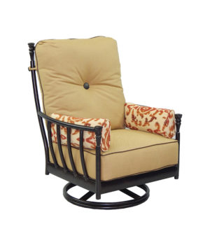 Provence Cushioned Lounge Swivel Rocker