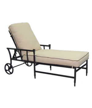 Provence Cushioned Chaise Lounge