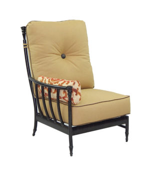 Provence Sectional Right Arm Ultra High Back Lounge Chair