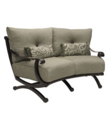 Telluride Crescent Loveseat