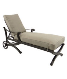 Telluride Cushioned Chaise Lounge