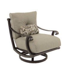 Telluride Cushioned Lounge Swivel Rocker