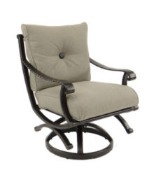 Telluride Cushioned Swivel Rocker
