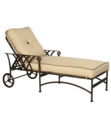 Veranda Cushioned Chaise Lounge