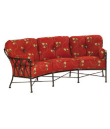 Veranda Cushioned Crescent Sofa
