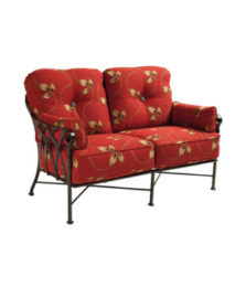 Veranda Cushioned Loveseat
