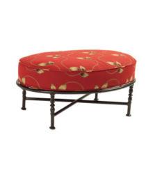 Veranda Oval Ottoman