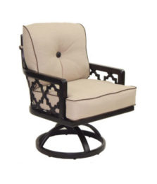 Belle Epoque Cushioned Swivel Rocker