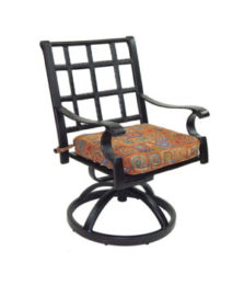 Monterey City Cast Swivel Rocker