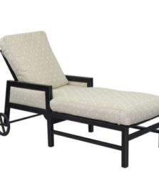Gold Coast Cushioned Chaise Lounge