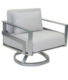 Eclipse Cushioned Lounge Swivel Rocker