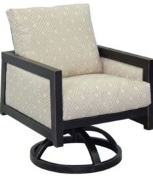 Gold Coast Cushioned Swivel Rocker