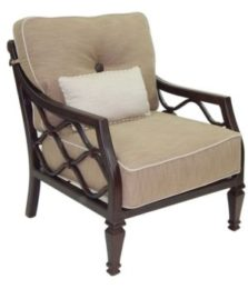 Villa Bianca Cushioned Lounge Chair
