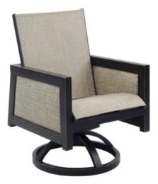 Gold Coast Sling Dining Swivel Rocker