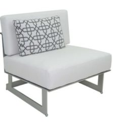 Eclipse Sectional Armless Lounge Chair
