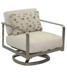 Solaris Cushion Lounge Swivel Rocker