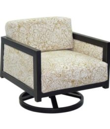 Gold Coast Cushioned Lounge Swivel Rocker