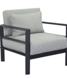 Vertice Cushioned Lounge Chair