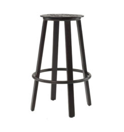 CLASSICAL BAR HEIGHT CAST STOOL