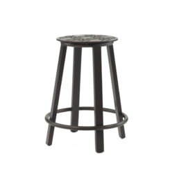 CLASSICAL COUNTER HEIGHT CAST STOOL