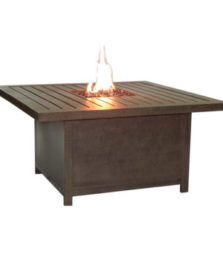 MODERNA RECTANGULAR FIREPIT COFFEE TABLE