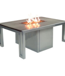 Icon Rectangular Firepit Coffee Table
