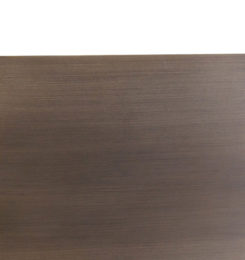 SMOOTH ALUMINUM WEATHERED WOOD WITH WALNUT-W3
