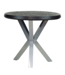ALTRA ROUND BAR HEIGHT TABLE