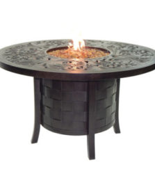 Classical Round Firepit Dining Table