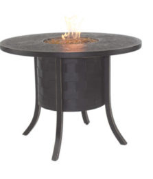 Classical Round Firepit Counter Height Table