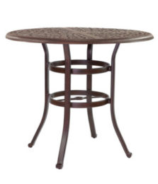 SIENNA ROUND COUNTER HEIGHT TABLE